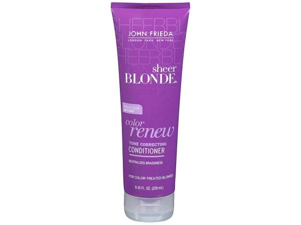 Sheer Blonde Color Renew Tone Correcting - Condicionador 250ml - John Frieda