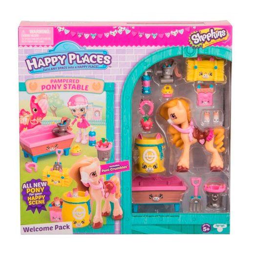Tudo sobre 'Shopkins Happy Place Kit Boas Vindas Estábulo - DTC'