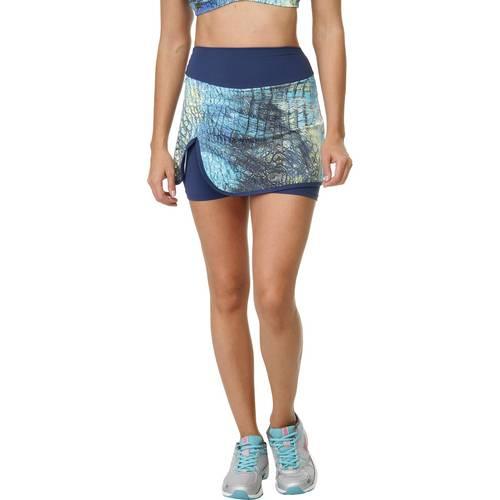 Tudo sobre 'Shorts-Saia Sawary Fitness Estampado'