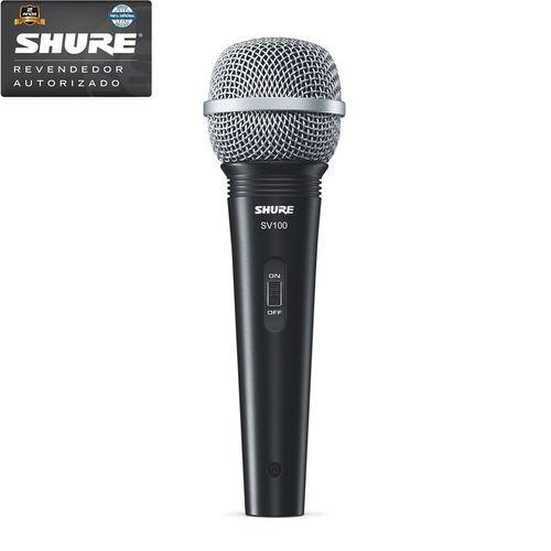 Shure - Microfone Multifuncional de Mão com Fio Sv100