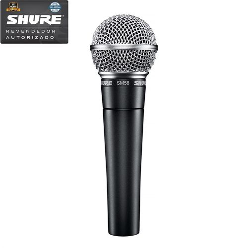 Shure - Microfone Vocal Dinâmico Cardioide Sm58lc