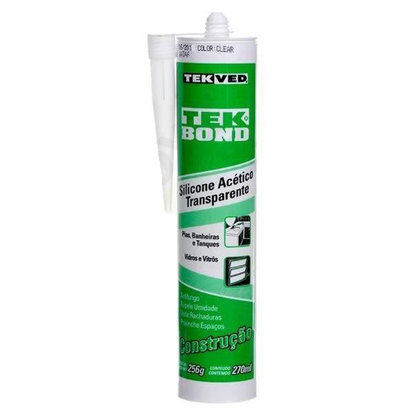 Tudo sobre 'Silicone Acético Transparente 270 G TekBond'