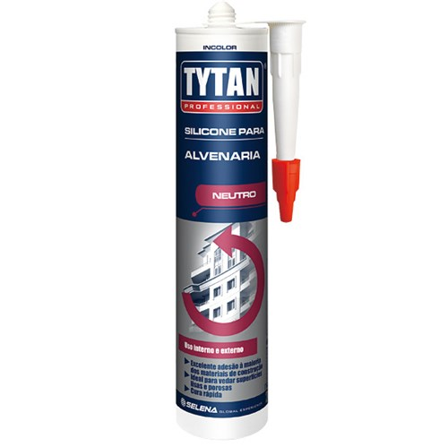 Silicone para Alvenaria 280g Incolor Tytan