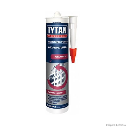 Silicone Tytan Alvenaria 280 Gramas Incolor Tytan