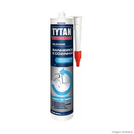 Silicone Tytan Banheiros 280 Gramas Incolor Tytan