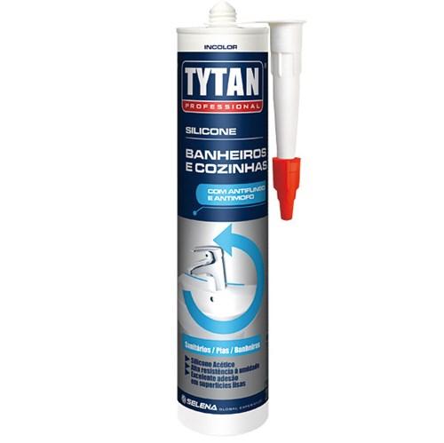 Silicone Vedação Box Banheiro 280g Incolor Tytan