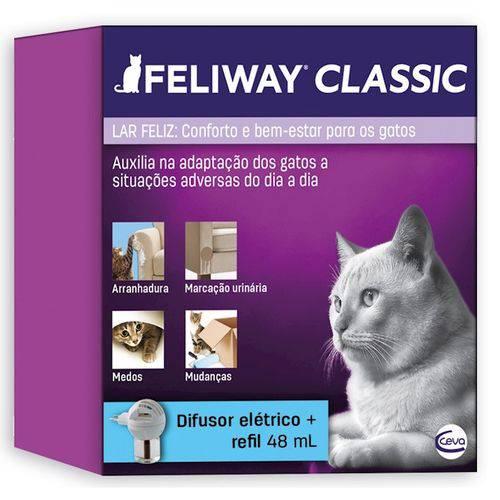 Tudo sobre 'Sistema de Terapia para Gatos Feliway Difusor e Refil'