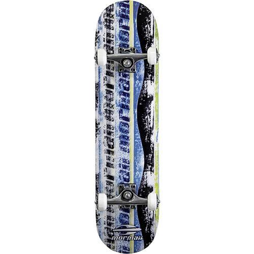 Skateboard Chill Mormaii Azul, Preto e Branco