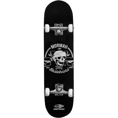 Skateboard Chill Mormaii Branco e Preto