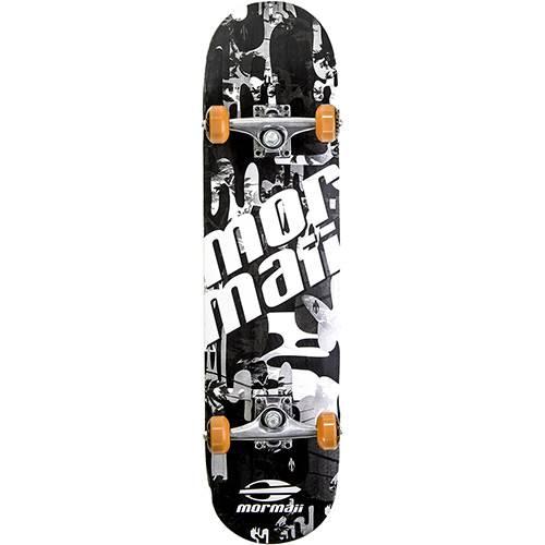 Skateboard Chill Mormaii Preto e Branco