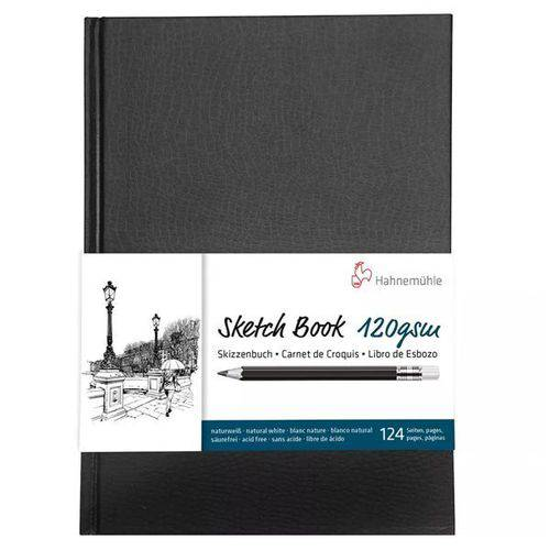 Tudo sobre 'Sketchbook Hahnemühle - 120g/m² A5'