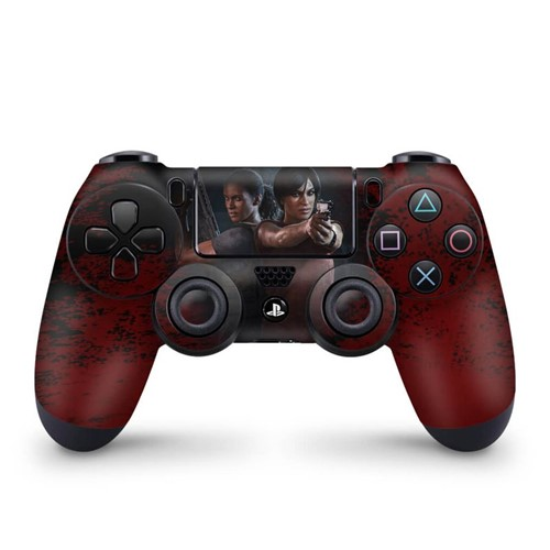 Skin PS4 Controle - Uncharted Lost Legacy Controle