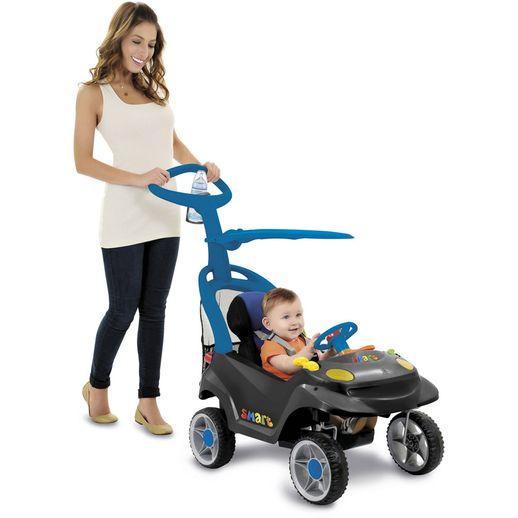 Tudo sobre 'Smart Baby Comfort Preto e Azul - Bandeirante'