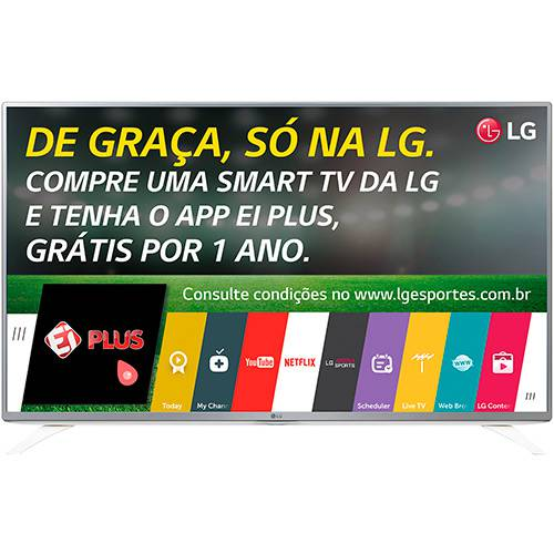 "Tudo sobre 'Smart TV 49"" LED LG 49LF5900 Full HD Conversor Digital Wi-Fi 2 HDMI 2 USB 60Hz'"