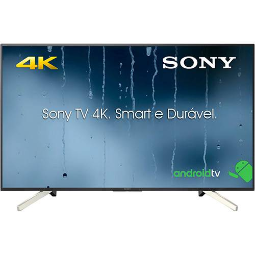 """Tudo sobre 'Smart TV Android LED 49"""" Sony KD-49X755F Ultra HD 4k com Conversor Digital 4 HDMI 3 USB 60Hz - Preta'"""