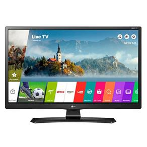 "Smart TV LED 24"" LG 24MT49S-PS HD com Wi-Fi, USB, 2 HDMI, Função Monitor Screen Share e Cinema Mode"