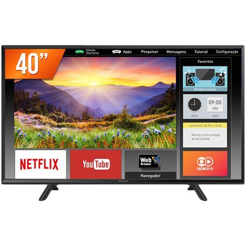 Tudo sobre 'Smart Tv Panasonic Led Full HD 43 - Tc-43fs630b'