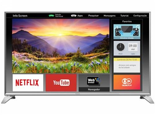 """Smart TV LED 49"""" Panasonic Full HD Viera - TC-49ES630B Conversor Digital Wi-Fi 3HDMi 2 USB"""