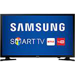 "Smart TV LED 49"" Samsung 49J5200 Full HD com Conversor Digial 2 HDMI 1 USB Wi-Fi Screen Mirroring e Connect Share Movie"