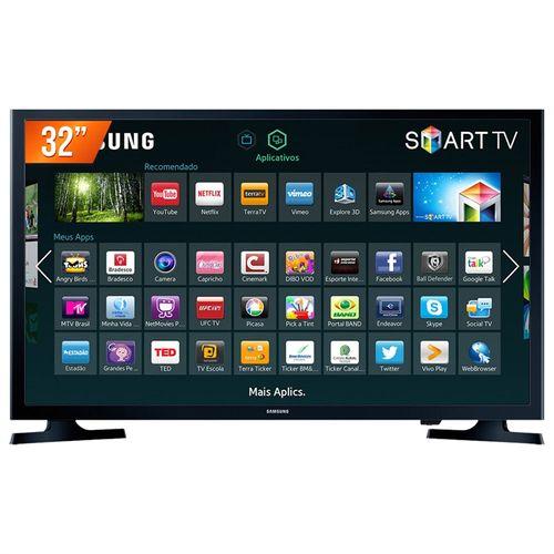 "Tudo sobre 'Smart TV LED 32"" HD Samsung UN32J4300AGXZD 2 HDMI Wi-Fi Integrado'"