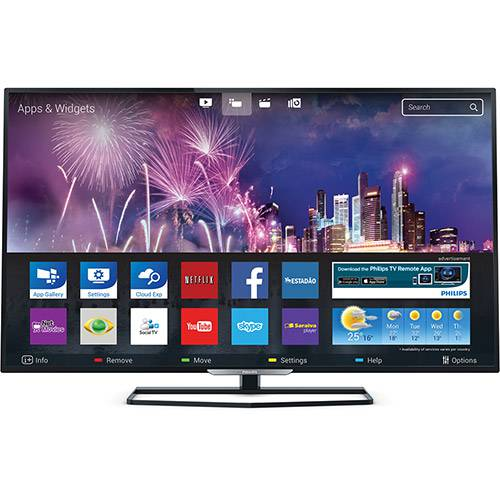 "Tudo sobre 'Smart TV Led 32"" Philips 32PFG5509/78 FULL HD 3 HDMI 2 USB 240Hz Wi-Fi Integrado'"