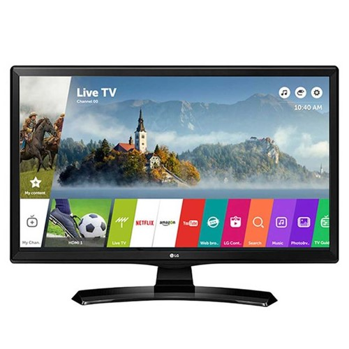 "Smart TV Monitor LED 24"" HD LG 24MT49S-PS com Wi-Fi Bivolt"