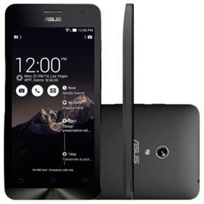 """Tudo sobre 'Smartphone Asus Zenfone Go Dual Chip Desbloqueado Android 5 Tela 5"""" 16GB 3G Câmera 8MP - Preto'"""