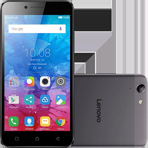 """Tudo sobre 'Smartphone Lenovo Vibe K5 Dual Chip Android 5.1.1 Lollipop Tela 5"""" 16GB 4G Câmera 13MP - Grafite'"""