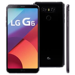 "Smartphone LG G6 Astro Black com 32GB, Tela 5.7"", Android 7.0, 4G, Câmera 13MP e Quad-Core"