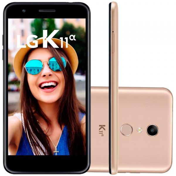"Smartphone LG K11 Alpha LMX410BTW 4G Android 7.1 32GB Octa Core 1.5GHz Câmera 13MP Tela 5.3"""