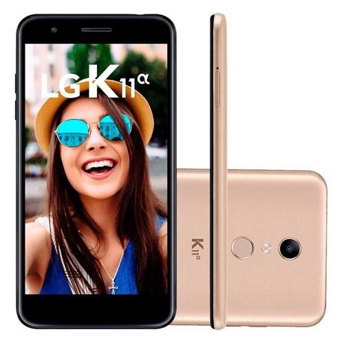 Smartphone LG K11 Alpha Dourado 16 GB LMX410BTW