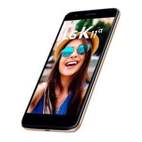 "Smartphone LG K11 Alpha LMX410BTW Tela 5,3"" 16GB 13MP Dual Chip Dourado"