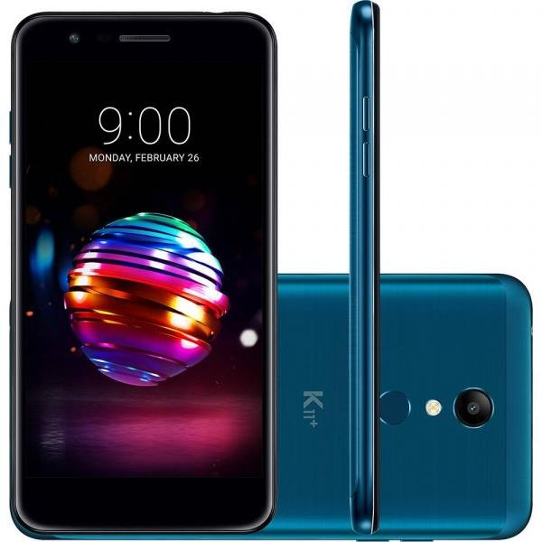 "Smartphone LG K11 Plus, Azul, X410, Tela de 5.3"", 32GB, 13MP"