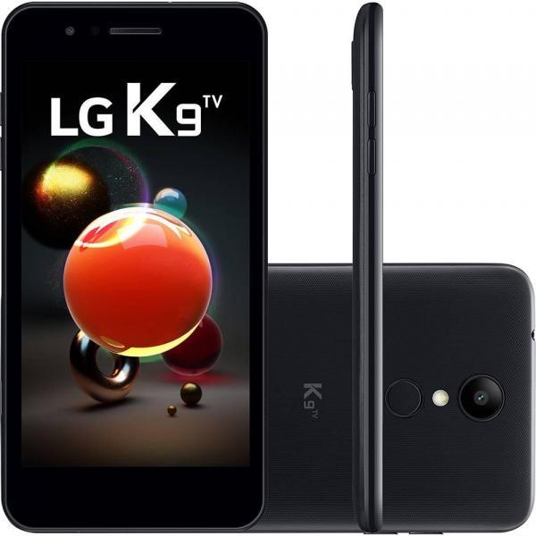 Smartphone LG K9 TV 16GB Tela 5 4G Câmera 8MP Quad Core 1.3 Ghz - Preto