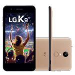 Smartphone Lg K9 X210bmw 16gb, Tela 5.0, Câmera 8mp,tv,dual Chip, 4g, Processador Quadcore - Dourado