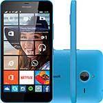 """Tudo sobre 'Smartphone Microsoft Lumia 640 XL Dual Chip Desbloqueado Windows Phone 8.1 Tela 5.7"""" 8GB 3G Câmera 13MP - Azul'"""