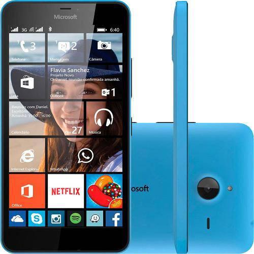 Tudo sobre 'Smartphone Microsoft Lumia 640 Xl Single 3g Tela 5.7 8gb Câmera 13mp - Azul'