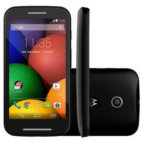 """Smartphone Moto E™ Dual Preto com Tela de 4.3"""", Dual Chip, Android 4.4, Wi-Fi, Câmera 5MP e Bluetooth - Tim"""