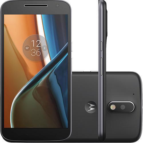 Smartphone Moto G 4 Dual Chip, Android 6.0, Tela 5.5, 16GB, Câmera 13MP, Preto - Motorola