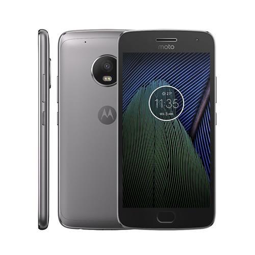 Smartphone Moto G 5 Dual Chip Android 7.0 Tela 5.0 16GB 4G Câmera 13MP - Platinum - Motorola