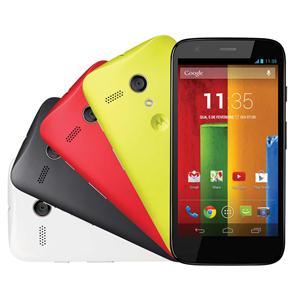 Tudo sobre 'Smartphone Moto G™ Colors Edition Dual 16GB com Tela de 4.5'', Dual Chip, Android 4.3, Câm. 5MP, Processador Quad-Core de 1,2 GHz Snapdragon'