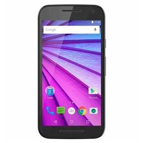 "Smartphone Moto G 3 16GB, Dual Chip, Android, Câm. 13MP , Tela 5"", 4G, Wi-Fi, XT1550 - Preto"