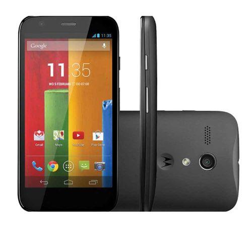 "Smartphone Moto G XT1032 8GB, 3G Single, Android, Câm. 5MP, Tela 4.5"", Wi-Fi Preto"