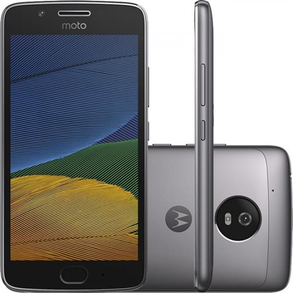 Smartphone Moto G5 Dual Chip Android 7.0 Tela 5 32GB 4G Câmera 13MP - Platinum - Motorola
