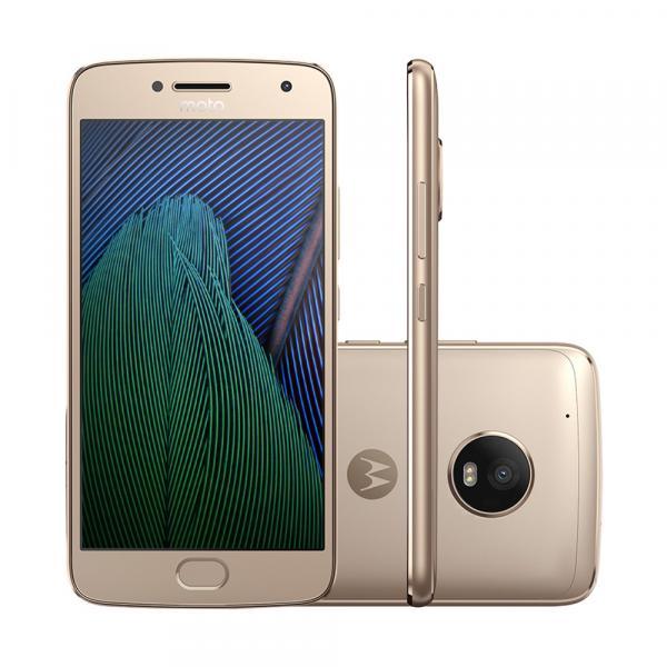 Smartphone Moto G5 Plus TV XT1683 Ouro - Motorola