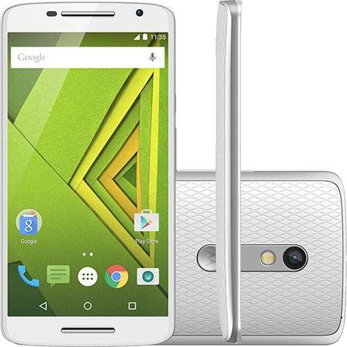 Tudo sobre 'Smartphone Moto X Play 16gb Xt1562 Tela 5.5 Dual Chip Android 5.1 4g Cam 21mp - Branco'
