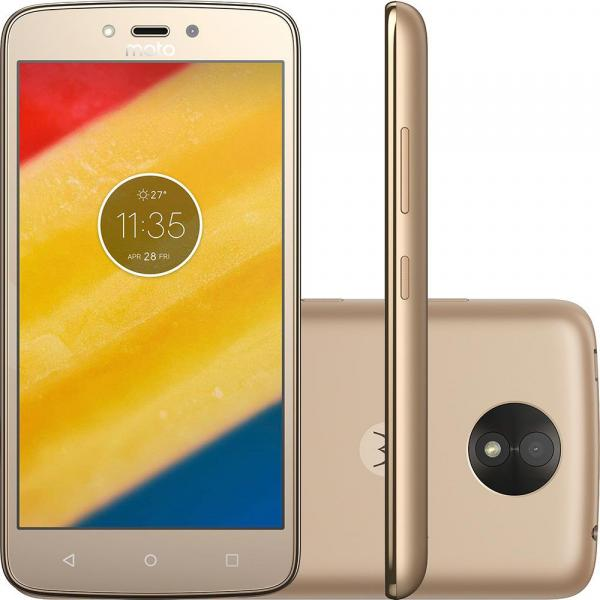 Smartphone Moto XT1726 C Plus Ouro 8 GB - Motorola