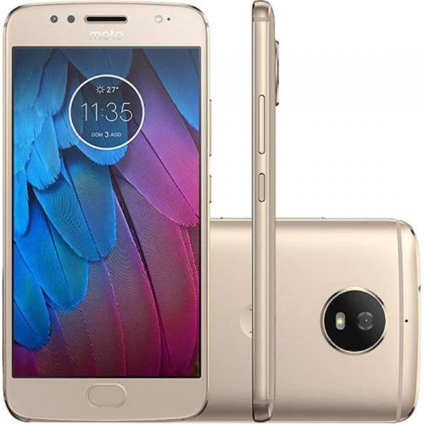 Smartphone Moto XT1792 G5S Ouro 32 GB - Motorola