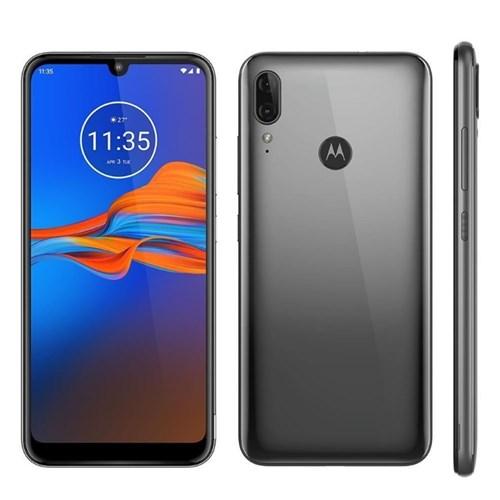 Smartphone Motorola E6 Plus XT2025 32GB 2GB RAM 13MP Tela 6.1-Cinza Metálico