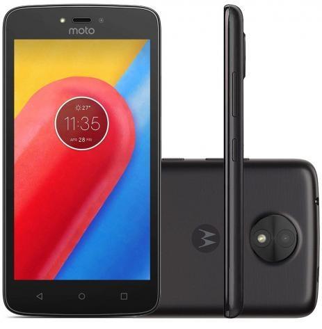 Smartphone Motorola Moto C 8gb Xt1750 Desbloqueado Preto